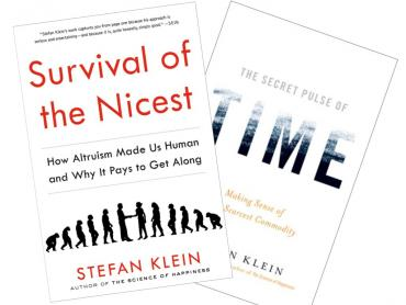 Stefan Klein Survival of the Nicest Time Book Covers